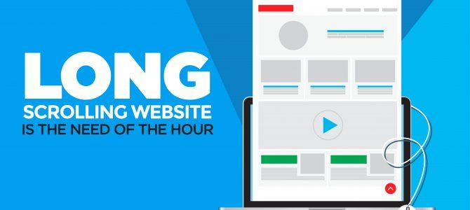 استفاده از Long scrolling در طراحی سایت