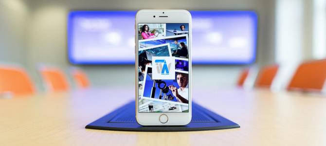 طراحی اپلیکیشن شرکت تجاری – بازرگانی برای iOS و اندروید