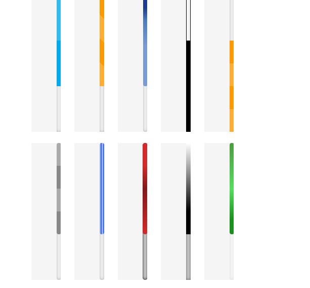 روش تغییر رنگ اسکرول مرورگر در طراحی سایت